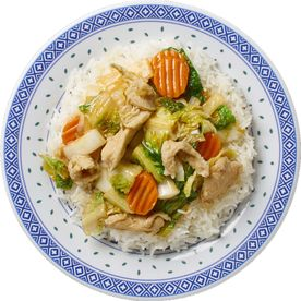 Chop Suey mit Poulet - Kilin Palast China Food in Lachen